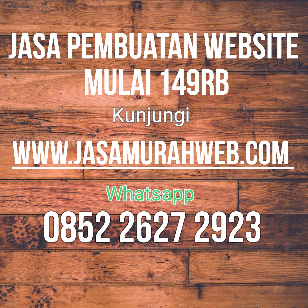 Jasa Pembuatan Website Murah Di Yogyakarta