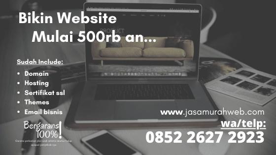 Jasa pembuatan website di Poso